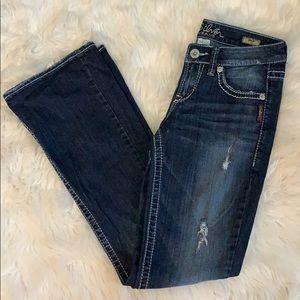 ♥️ EUC - Silver Jeans - Lola Flare.